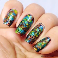 78 Best Bright And Bold Nails Images On Pinterest Daily Nail Art