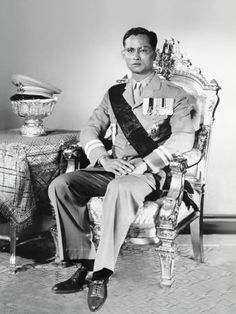 Rama IX - King Bhumipol Adulyadech of Thailand