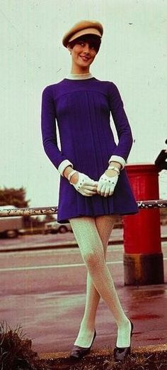 Purple mini 1960's