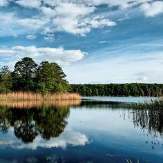Jak nazywa się najgłębsze jezioro w Polsce ? Hańcza! Hańcza – jezioro położone na Pojezierzu Wschodniosuwalskim. Jego głębokość wynosi 108,5 m.   Natomiast Czarna Hańcza to największa rzeka suwalszczyzny
