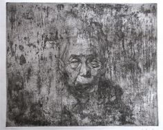 grandpa By KotaSasai copperplate print 29 x 36 (cm) Stamp Printing, Mark Making, Gravure, Art Images, Painting & Drawing, Printmaking, Sketching, Stencil, Im Not Perfect