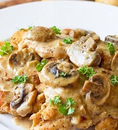 Chicken Marsala...love this dish, especially over buttered noodles...~=)