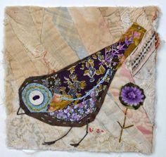 Заметки на полях души - Картины художницы по текстилю Mandy Pattullo из Нортумберленда.