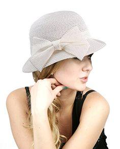 NYfashion101 Spring Summer Side Flip Cloche Bucket Hat w  Woven Bow Accent  NYfashion101 http  6f86c2967c13