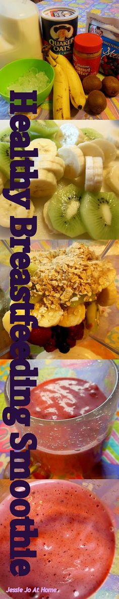 Jessie Jo At Home: Yummy Fruit Smoothie for Nursing Moms