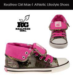 Realtree Girl Max-1 Camo Lifestyle Shoes #realtreegirl #camo #shoes