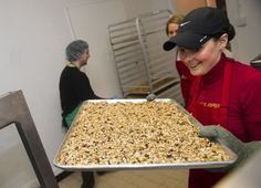 For Sarah Lanphier, hard work starts before the crunch of dawn at Nuts About Granola #granola #recipe