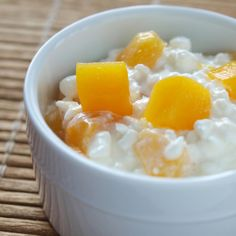 Cottage Cheese & Peaches