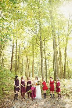 A bride and her bridesmaids in a beautiful setting at Hawkesdene House.