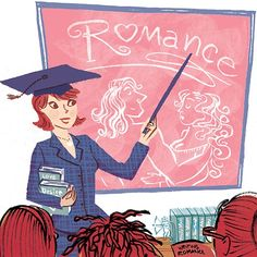 Romance School: Nora Roberts! an image by Violet Lemay