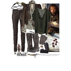 Thorin Oakenshield by gennabug00 on Polyvore featuring Graumann, Just Cavalli, SELECTED, Bed|Stu and Pieces