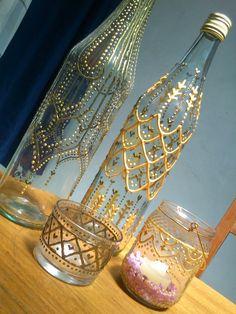 Katia Johana: Vidros decorados