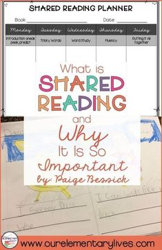 What Is Shared Reading and Why It Is So Important