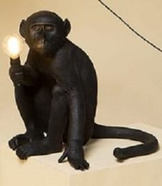 Lifelike Monkey Mother and Baby garden ornament decoration chimp lover gift
