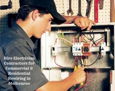 Get professional electricians in melbourne for rewiring services at your home or office with Electrician Contractor. We provide the best electrical services in Melbourne. We provide:  #Garden Lights #Deck Lights #Low Voltage Lighting #Downlights #LED Lighting #Security Lights #Heat Lamps #Flood Lights