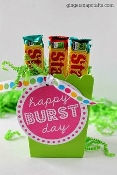 Happy BURST Day                                                                                                                                                      More