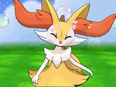 Pokemon Fennekin X And Y Braixen Delphox