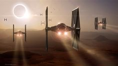 See STAR WARS: THE FORCE AWAKENS Concept Art from ILM