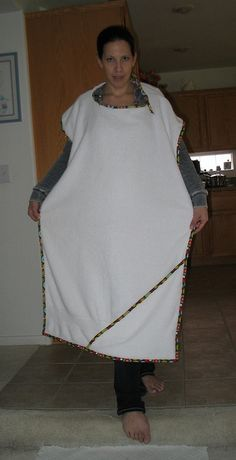 Hooded baby apron towel by 1hobbyolic, via Flickr