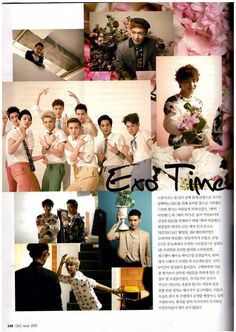 EXO - Ceci June issue