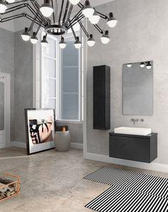 Mobiliário para casa de banho made by Norbanho - Linha Open #italbox #waterprotect #norbanho