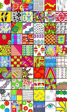 Patterns great for Zentangles