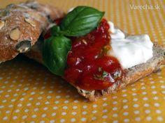 Paradajková marmeláda (fotorecept)