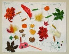 Go outdoors and collect leaves, twigs and fun things to make a colorful fall collage. Great for littles. #HotelT