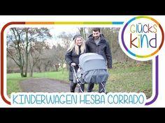 Baby-Erstausstattung   Unser Retro-KINDERWAGEN   Hesba   Das Glückskind # BabyBlog - YouTube