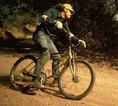 "ridepdw: "" Pretty much, the best thing I've seen in days. Gary Fisher, Off Road Bikes, Bike Parking, Bike Art, Mtb Bike, Mountain Biking, Old School, Retro Bikes, Bike Stuff"