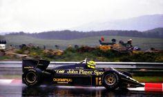 Ayrton Senna 1985.