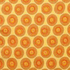Alexander Henry House Designer - Everyday Eden - Spinning Wheel in Yellow