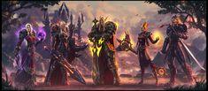 ArtStation - Blood Elf Family Portrait, Todor Hristov Daily World of Warcraft Art Board ^^ // Blizzard // wow // Hearthstone // Geek  #Worldofwarcraft #WarcraftArt #Geek #Wow #hearthstone #BlizzardArt #art