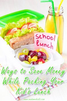 To me these are commons sense tips but that is due to how I was raised. Hope these tips help. kids lunch