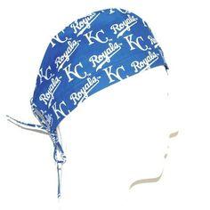 594d2ec3f7d04 MLB Kansas City Royals theme Scrub Hat