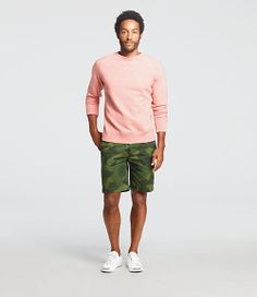 We just got these Camo shorts in from Jack Spade. They look great paired with a softer colored shirt.