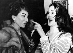 Maria Callas and Joan Sutherland