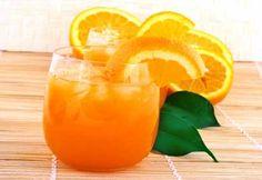Cooler à l'orange et au citron