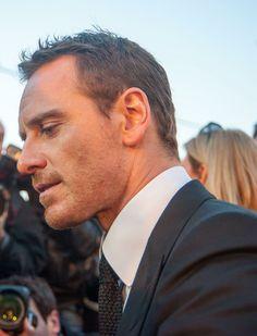 gorgeous profile (X-Men: DoFP Moscow premiere)