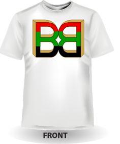 91e6a8e81 BB - Mens White Tee Front White Tees, Clothes For Women, Logos, Sweatshirts
