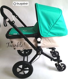 Bugaboo Offhwite Edition with Tailored Fabric Jade #Twinkle_Babyshop