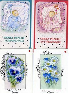 Piirtämiäni postikortteja