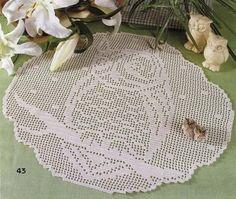 Delicadezas en crochet Gabriela: Tapete búho