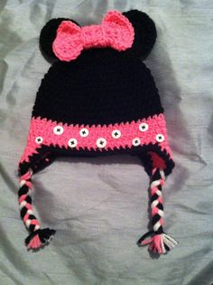 Crochet Minnie Mouse