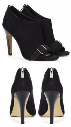cute heels - very versatile, and a nice alternative to black pumps.