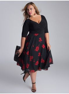 Isadora Dress Igigi - Canada from Strut Curvaceous Fashion. We ship worldwide from London...