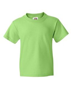 NEW LOWER PRICE > Cheerful Colors to Brighten any Kids Day, Nice fit for both Boys and Girls of all ages. Basic Youth Cut Sizing. Strong double-needle stitched neckline and bottom hem Tee. Quarter turned. Seamless collar. Short sleeve shoulder-to-shoulder taping. A Quality Plain Basic Cheap Discount Blank Wholesale Children's T-shirt.