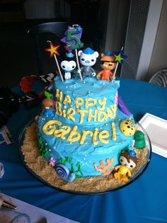 Octonauts cake this may be more my style lol