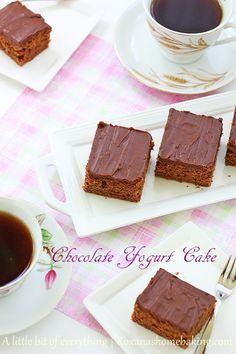 chocolate yogurt cake   roxanashomebaking.com