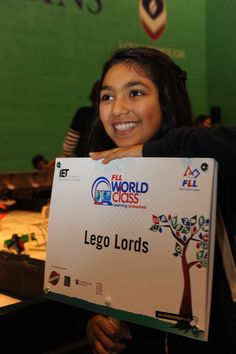 Students work in teams to compete in the FIRST LEGO League global robotics competition http://firstlegoleague.theiet.org/